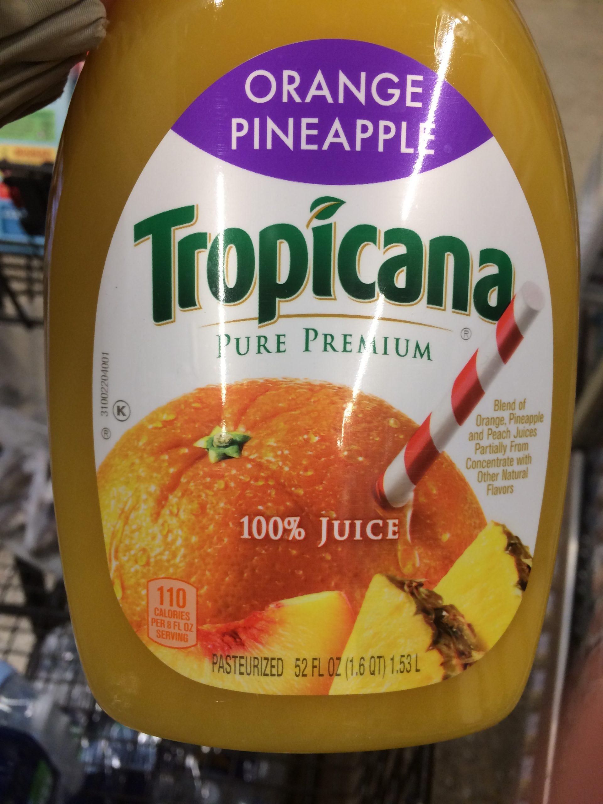 Poor Substitute for Low-Acid Orange Juice