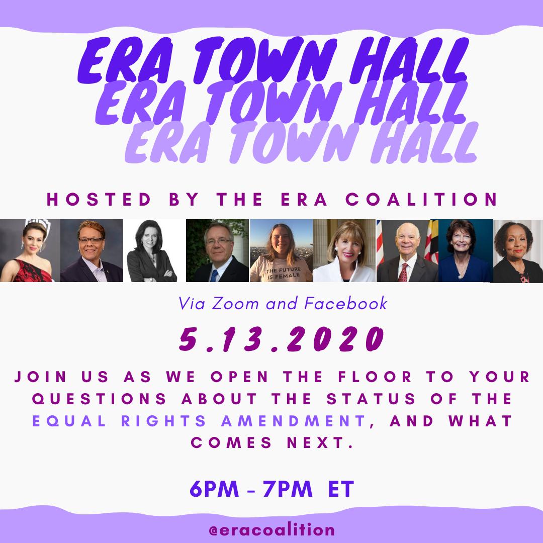 ERA Town Hall, 13 May 2020